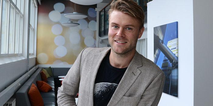 Henrik Wickström projektledare Finans IT är Mälarenergis representant i projektet och också en av initiativtagarna.