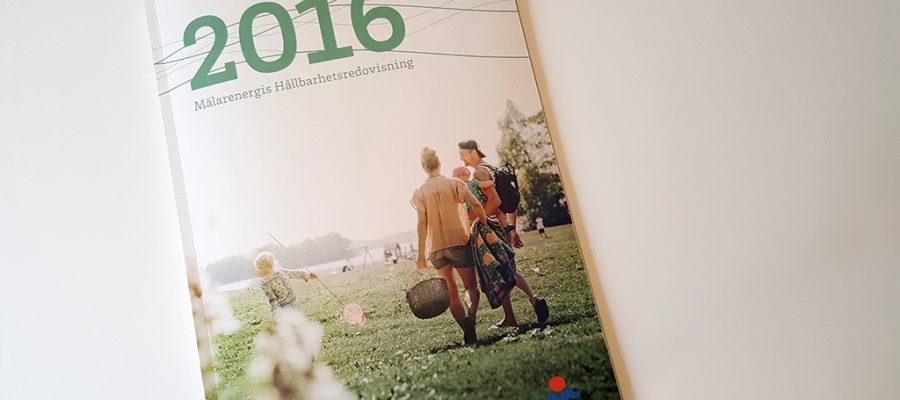 Varje år utser kunskaps- och medieföretaget Aktuell Hållbarhet Årets bästa hållbarhetsredovisning. 2017 tog Mälarenergi hem segern.