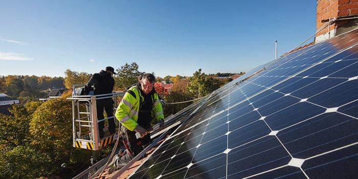Tjänster kring solceller skulle kunna utvecklas i projektet Smarta elnät - för vem?