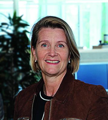 Eva Söderberg är Affärsområdeschef för Elhandel hos Mälarenergi.