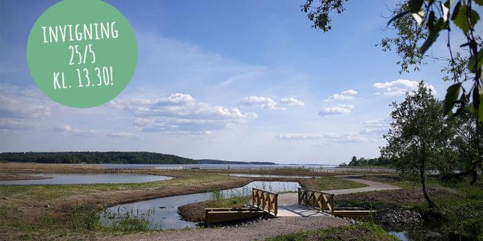 Mälarenergi har anlagt dagvattendammar och Västerås stad har iordningställt strövområden vid Hamre våtmark i Västerås.