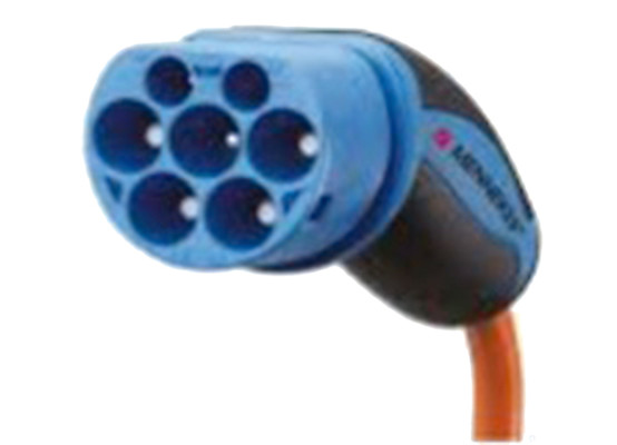 Typ2-kontakt för elbil