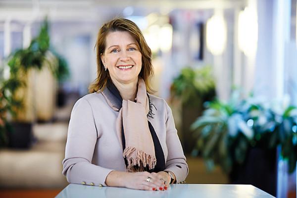 Eva Söderberg är mentor i Qraftsamling