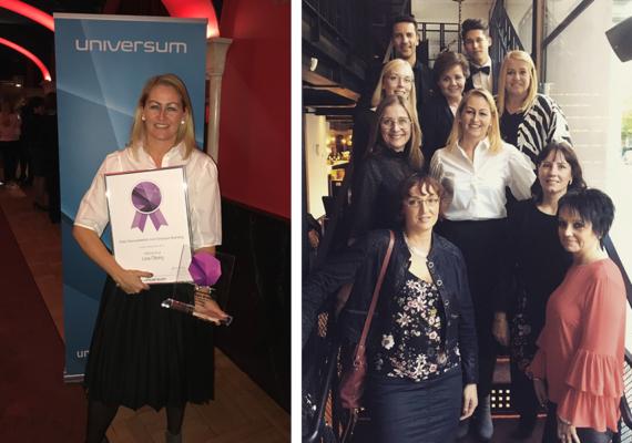 Mälarenergis HR-chef Lina Öberg blev Årets personaldirektör inom employer branding.
